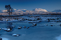 The River Ba and the Bridge of Orchy Mountains, Rannoch Moor, Argyll & Bute, Scotland<br /> <br /> Copyright www.scottishhorizons.co.uk/Keith Fergus 2011 All Rights Reserved