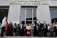 04.10.2019 - Ato de solidariedade à Juíza Louise Filgueiras em SP