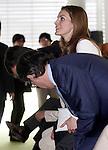Princess Letizia of Spain while visiting pharmaceutical laboratories Cinfa.June 06,2013. (ALTERPHOTOS/Acero)