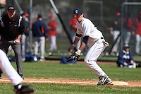 February 28, 2010:  First Baseman Mike Nemeth of the University of Connecticut Huskies during the Big East/Big 10 Challenge at Raymond Naimoli Complex in St. Petersburg, FL.  Photo By Mike Janes/Four Seam Images