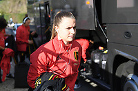 20200304  Parchal , Portugal : Belgian Davinia Vanmechelen pictured during the female football game between the national teams of New Zealand , known as the Football Ferns and Belgium called the Red Flames on the first matchday of the Algarve Cup 2020 , a prestigious friendly womensoccer tournament in Portugal , on wednesday 4 th March 2020 in Parchal , Portugal . PHOTO SPORTPIX.BE | DAVID CATRY
