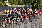Members of the Chain gang cycling club pictured at the launch of the Chain gang cycling sportives which take place on Saturday 14th September