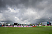 The cloud cover closed in later in the day during India vs New Zealand, ICC World Test Championship Final Cricket at The Hampshire Bowl on 20th June 2021