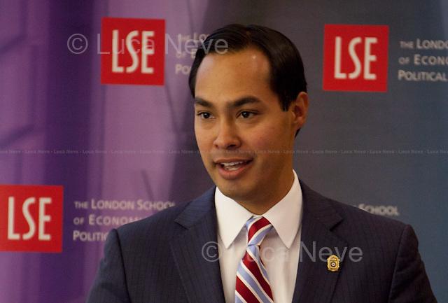 Julian Castro, Mayor of San Antonio, Texas & co-chair of the Obama 2012 Campaign.