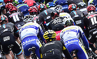 Picture by Alex Broadway/SWpix.com - 30/04/2016 - Cycling - 2016 Tour de Yorkshire: Otley to Doncaster - Yorkshire, England - The peloton make their way through the Yorkshire countryside.