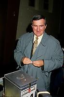 Montreal (Qc) Canada  file Photo - Nov 6 1994 -  Pierre Bourque get elected Mayor of Montreal, replacing Jean Dore. - Pierre Bourque