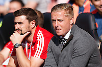 Swansea City manager Garry Monk during the Barclays Premier League match between Southampton v Swansea City played at St Mary's Stadium, Southampton