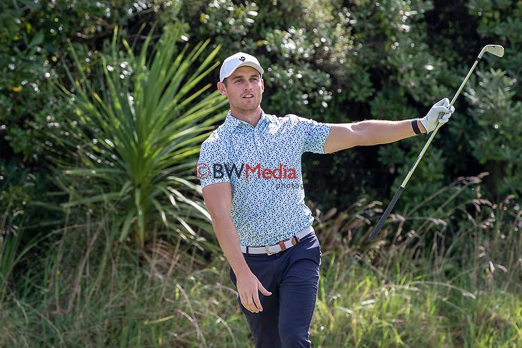 Cameron Jones, The Autex Muriwai Open, Muriwai, Auckland, New Zealand, Thursday 8 April 2021 Photo: Dave Rowland/www.bwmedia.co.nz