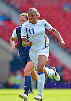 July 25, 2012..Marie-Laure Delie (11). USA vs France Football match during 2012 Olympic Games at Hampden Park in Glasgow, England. USA defeat France 4-2 after conceding two goals in the first half of the match...(Credit Image: © Mo Khursheed/TFV Media)