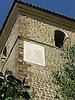 Sundial at the steeple of the parish church Saint John the Baptist<br /> <br /> Reloj de Sol en el campanario (hasta el siglo XVI torre de defensa) de la iglesia parroquial de San Juan Bautista (cat.: Sant Joan Baptista)<br /> <br /> Sonnenuhr am Kirchturm (bis zum 16. Jh. Wehrturm) der Pfarrkirche San Juan Bautista (Hl. Johnnes der Täufer)<br /> <br /> 2272 x 1704 px<br /> 150 dpi: 38,47 x 28,85 cm<br /> 300 dpi: 19,24 x 14,43 cm