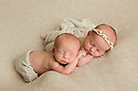 Twins Bronson and Rian M Newborn Baby Bee 1 of 4
