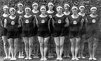 BNPS.co.uk (01202) 558833. <br /> Pic: Pen&Sword/BNPS<br /> <br /> Pictured: The 1928 gold medal winning Dutch gymnastics team, four out the five Jewish members of the team were murdered during the Holocaust. <br /> <br /> The tragic stories of almost 500 Olympians who were killed during World War Two have been revealed in a new book.<br /> <br /> While this year's Tokyo Olympics competitors are producing extraordinary feats in the sporting arena, these fallen Olympians displayed heroism of a different kind.<br /> <br /> Dozens died carrying out acts of gallantry in major battles including D-Day, while almost 60 Jewish participants perished in concentration camps during the Holocaust.