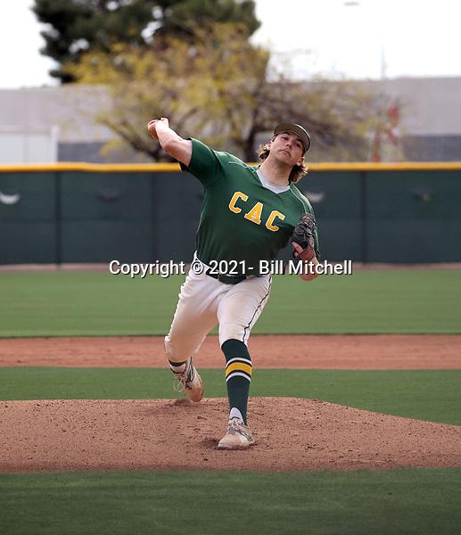 Tyler Woessner - 2021 Central Arizona College Vaqueros (Bill Mitchell)