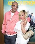 T.I. and Tameka {Tiny} Cottle attends The Warner Bros. Pictures' L.A. Premiere of Entourage held at The Regency Village Theatre  in Westwood, California on June 01,2015                                                                               © 2015 Hollywood Press Agency