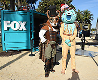 MIAMI BEACH, FL - JANUARY 30: FOX SUPER BOWL LIV ACTIVATION AT LUMMUS PARK AND FOX SPORTS SOUTH BEACH STUDIO: Mr. Fox and Ice Cream from The Masked Singer at FOX's weeklong interactive fan experience on the beach in Miami at Lummus Park on January 30, 2020 in Miami Beach, Florida. (Photo by Frank Micelotta/Fox/PictureGroup)