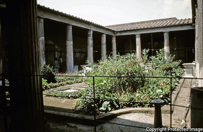 House of the Golden Cupids, Pompeii