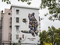 British Street Artist Louis Masai - 22.09.2017