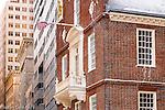 The Old State House, Boston National Historical Park, Boston, Massachusetts, USA