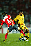 Malaysia vs Korea Republic during the 2004 Olympic Preliminary Qualifier Group A match on March 24, 2015 at the MPPJ Stadium in Kelana Jaya, Malaysia. Photo by World Sport Group