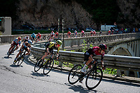 Lucas Hamilton (AUS/Mitchelton-Scott) <br /> <br /> Stage 19: Treviso to San Martino di Castrozza (151km)<br /> 102nd Giro d'Italia 2019<br /> <br /> ©kramon