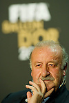 Vicente Del Bosque (ESP) Kandidat fuer den FIFA Ballon D'Or fuer den besten Coach (Andreas Meier/EQ Images)