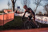 Jelle Camps (BEL/Pauwels Sauzen-Bingoal) <br /> <br /> Elite Men's Race<br /> Belgian National CX Championships<br /> Meulebeke 2021<br /> <br /> ©kramon
