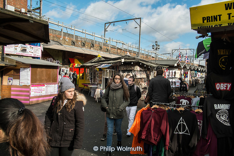 Camden Lock Village market will be forced to close for 14 months under current proposals for the HS2 high speed rail link. The route requires major work to the viaduct on the northern edge of the market.