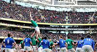 Sunday10th March 2019 | Ireland vs France<br /> <br /> Peter O'Mahony during the Guinness 6 Nations clash between Ireland and France at the Aviva Stadium, Lansdowne Road, Dublin, Ireland. Photo by John Dickson / DICKSONDIGITAL
