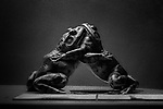 """""""French Sumo"""" <br /> Frog Display<br /> Museum of Natural History<br /> Manhattan, NY <br /> From the """"Captivity"""" series<br /> © Thierry Gourjon-Bieltvedt"""