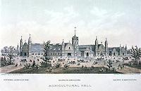 Utopia:  Centennial Portfolio--Agricultural Hall, Centennial Exposition.