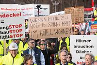2019/12/09 Berlin | Politik | Protest gegen Mietendeckel