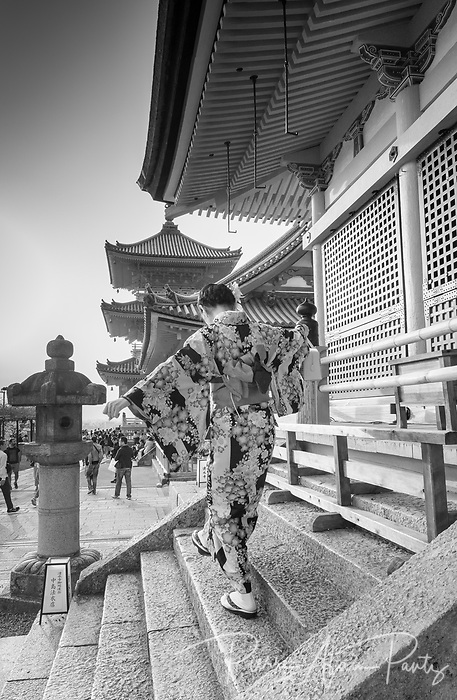 Kyoto, temple Kiyomizu-dera