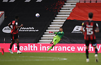 17th October 2020; Vitality Stadium, Bournemouth, Dorset, England; English Football League Championship Football, Bournemouth Athletic versus Queens Park Rangers; Seny Dieng of Queens Park Rangers kicks long from hand