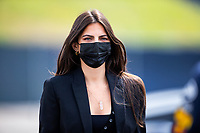July 4th 2021; Red Bull Ring, Spielberg, Austria; F1 Grand Prix of Austria, race day;  PIQUET Kelly (bra) girlfriend of Max Verstappen arrives at the track