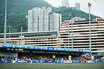 Aston Villa vs HKFA U-18 during day two of the HKFC Citibank Soccer Sevens 2015 on May 30, 2015 at the Hong Kong Football Club in Hong Kong, China. Photo by Xaume Olleros / Power Sport Images