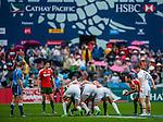 England vs Portugal during the Cathay Pacific / HSBC Hong Kong Sevens at the Hong Kong Stadium on 29 March 2014 in Hong Kong, China. Photo by Andy Jones / Power Sport Images