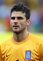 Greece goalkeeper Orestis Karnezis