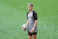 Dänische Spieler im Stadion - Innsbruck 01.06.2021: Abschlusstraining Deutsche Nationalmannschaft