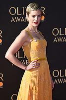 Denise Gough<br /> arriving for the Olivier Awards 2017 at the Royal Albert Hall, Kensington, London.<br /> <br /> <br /> ©Ash Knotek  D3245  09/04/2017