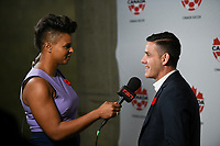Vancouver, Canada - Thursday November 09, 2017: John Herdman during an International friendly match between the Women's National teams of the United States (USA) and Canada (CAN) at BC Place.