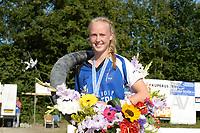 FIERLJEPPEN: WINSUM: 04-09-2021, FK Fierljeppen, Inger Haanstra, ©foto Martin de Jong