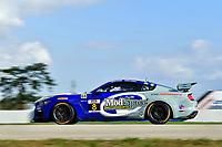 IMSA Continental Tire SportsCar Challenge<br /> Sebring February Test<br /> Sebring International Raceway, Sebring, Florida, USA<br /> Wednesday 21 February 2018<br /> #8 Multimatic Motorsports, Ford Mustang GT4, GS: Chad McCumbee, Patrick Gallagher<br /> World Copyright: Richard Dole<br /> LAT Images