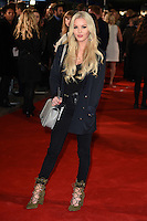 """Betsy-Blue English<br /> at the premiere of """"The Light Between Oceans"""" at the Curzon Mayfair, London.<br /> <br /> <br /> ©Ash Knotek  D3184  19/10/2016"""