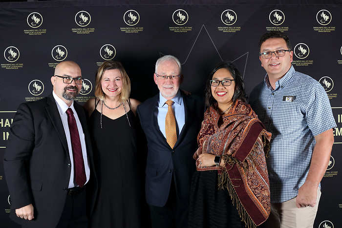 Vancouver, B.C. - November 15th, 2019 - Canadian Paralympic Committee board members at the 2019 Canadian Paralympic Hall of Fame Induction Ceremony. Photo: Lydia Nagai/Canadian Paralympic Committee