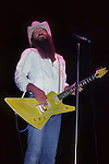 ZZ Top performing live at Madison Square Garden, NYC, June 1983. Eliminator Tour.