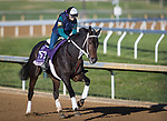 Vequist, trained by Robert E. Reid Jr., exercises in preparation for the Breeders' Cup Juvenile Fillies at Keeneland 11.03.20.