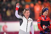 SPEEDSKATING: HAMAR: 01-03-2020, ISU World Speed Skating Championships, Allround, 1500m Ladies, Claudia Pechstein (GER), ©photo Martin de Jong