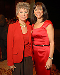 Rita Moreno and Ilene Allen at the American Heart Association Go Red for Women luncheon at the InterContinental Houston Monday May 04,2009.  (Dave Rossman/For the Chronicle)