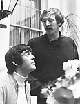 "Richard Harris and Jimmy Webb 1968 at time of ""Macarthur Park"".© Chris Walter."