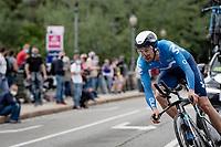 Davide Villella (ITA/Movistar)<br /> <br /> 104th Giro d'Italia 2021 (2.UWT)<br /> Stage 1 (ITT) from Turin to Turin (8.6 km)<br /> <br /> ©kramon
